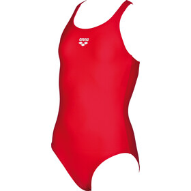 arena Dynamo One Piece Swimsuit Meisjes, red